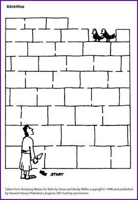 Nehemiah Rebuilding the Walls of Jerusalem Kids Korner