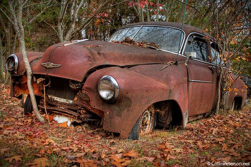 Abandoned Car Near Fall Creek Falls - Rural Tennessee Decay by Collin_Peterson, via Flickr