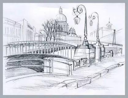 Бабушке лет, санкт-петербург рисунок карандашом легкий