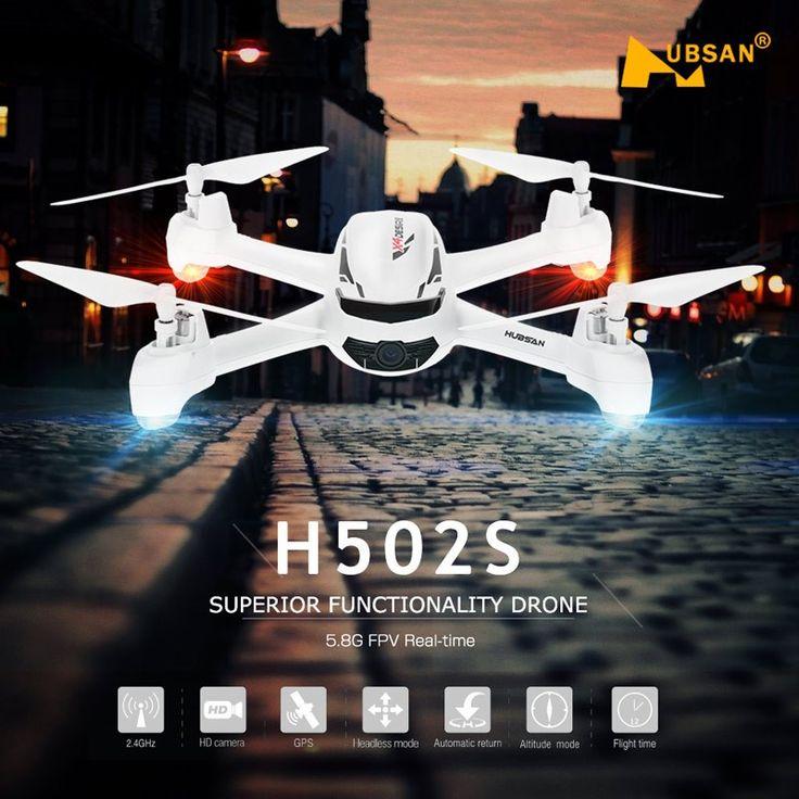 Drona Original Hubsan H502S, FPV 5.8G, HD, GPS
