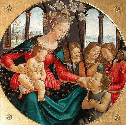 domenico ghirlandaio 1449-1494 | domenico ghirlandaio italian artist 1449 1494 the nativity