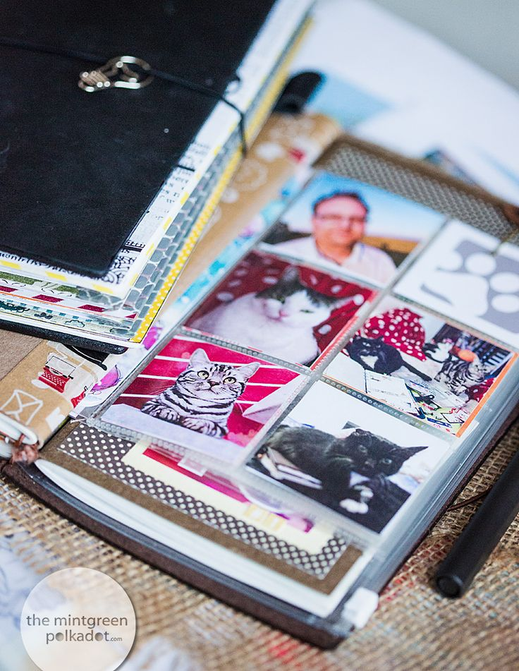 Midori-Love Video: DIY Clearpockets made out of Simple Stories Page Protectors
