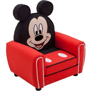 Delta Disney Mickey Mouse Figural Upholstered Chair, Red Ummm YES