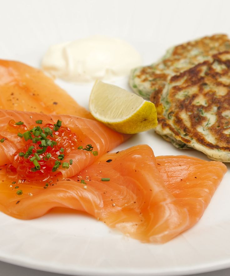 The sultry flavour of smoked salmon is nicely complimented by the chard and dill pancakes in this perfect brunch recipe from Shaun Hill. This savoury pancake recipe, paired with the Sunday papers and a cup of coffee, could kick off a perfect day.
