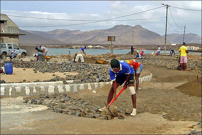 Baía das Gatas, São Vicente Island.  Foto: ©2006 Francisco Santos