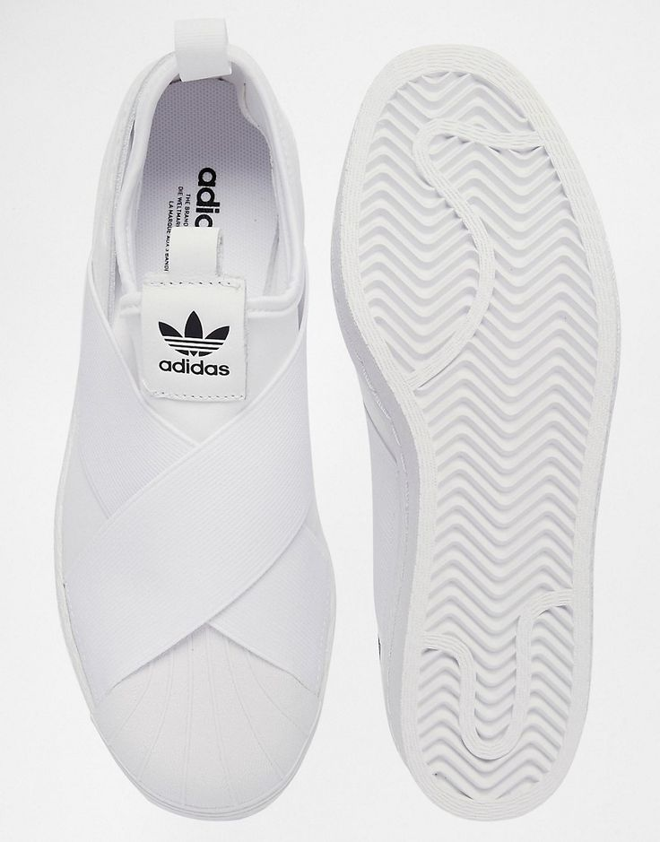 Image 3 of adidas Originals Superstar Slip On White Sneakers