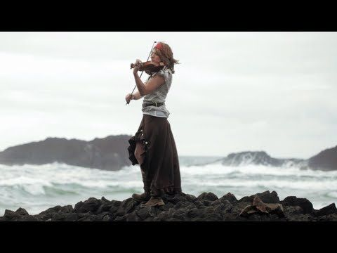 ▶ He's a Pirate (Pirates of the Caribbean Theme) Violin - Taylor Davis - YouTube