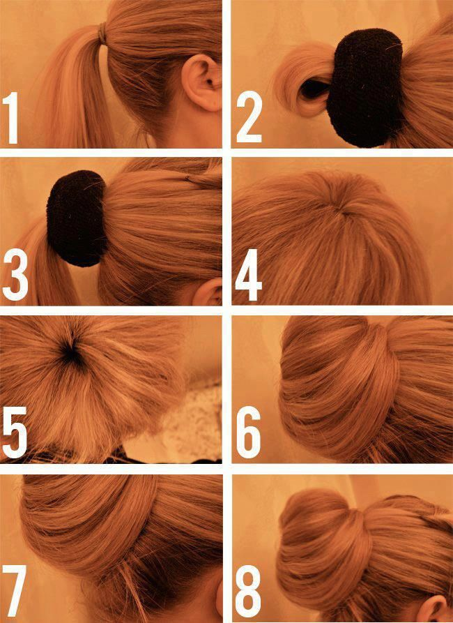 Elegant and easy up-do