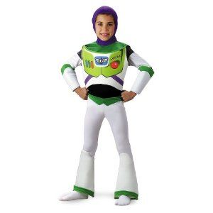 Toy Story Buzz Lightyear Deluxe Costume - Size: 3T-4T: Amazon.com: Clothing