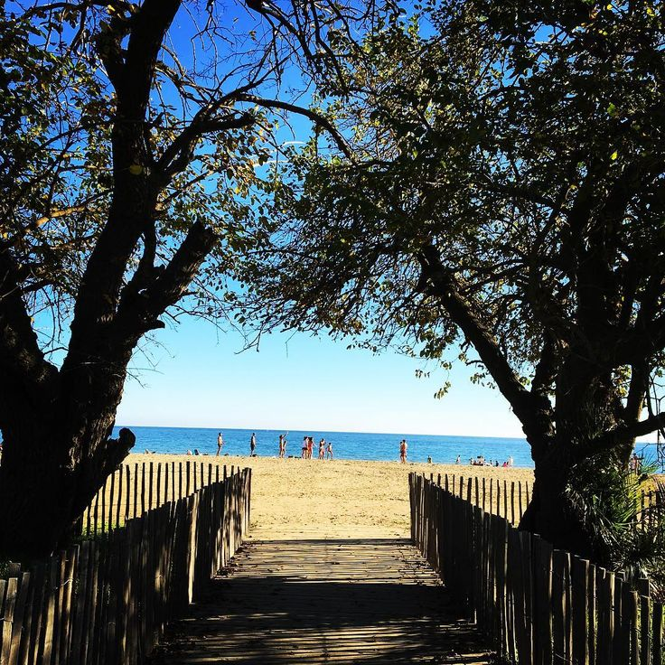 Vamos à la playa 🌴  #cavalaire #playa #automne2016 #sunset #picoftheday #sudiste #vacaciones