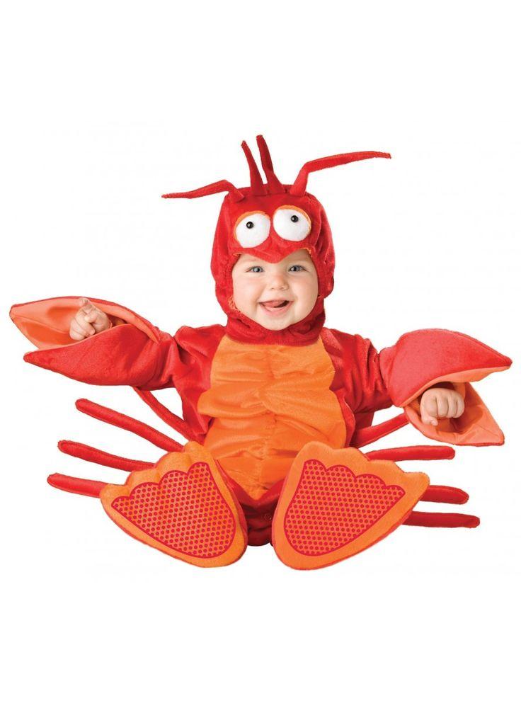 Disfraz de langosta tenacitas para bebé