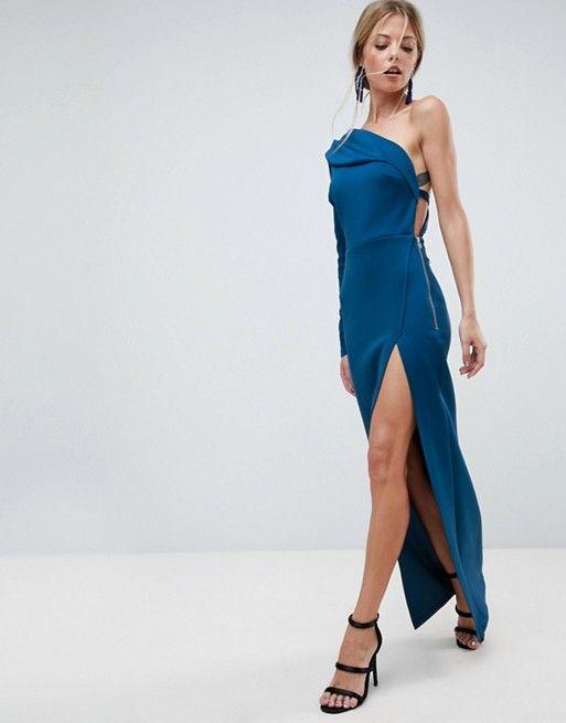 Thigh Split Maxi Dress