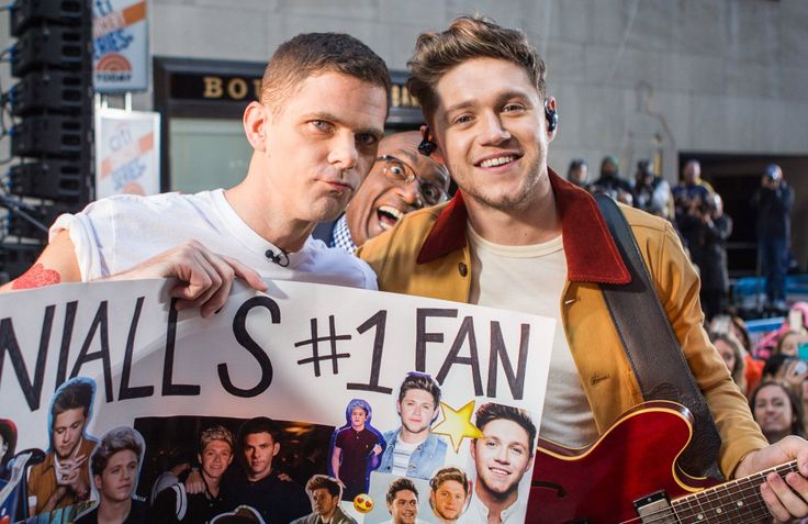 October 26: Niall at the TODAY Show with Mikey Day from SNL