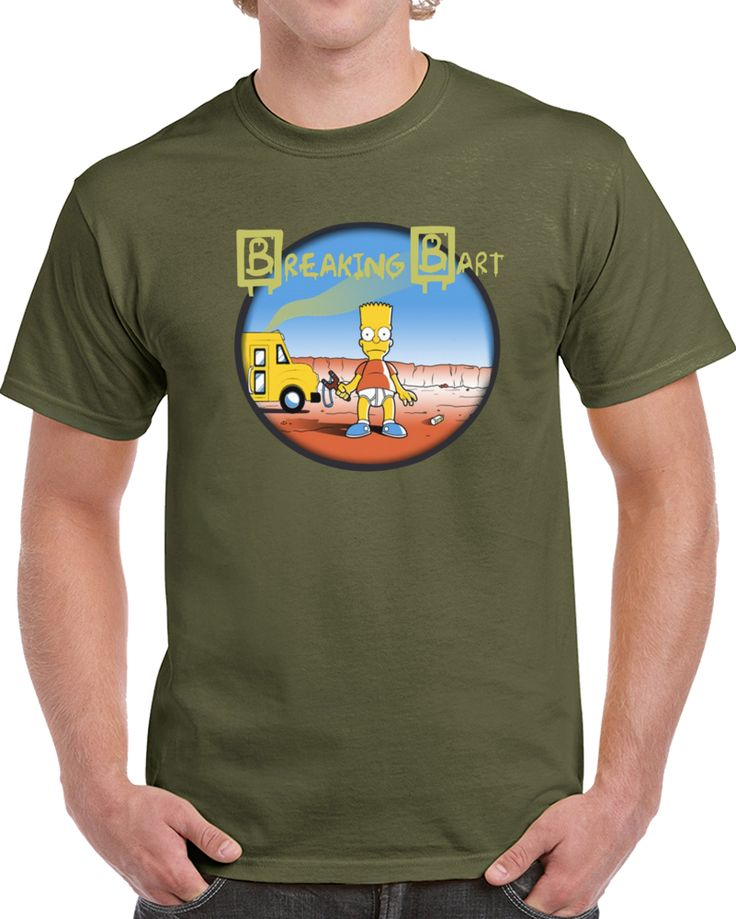 Breaking Bart Bart Simpson  T Shirt