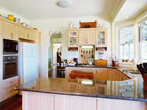 Kitchen: Burdekin Garth Chapman Traditional Queenslander