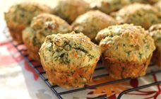 Feta and Spinach Muffins Recipe - After school snacks