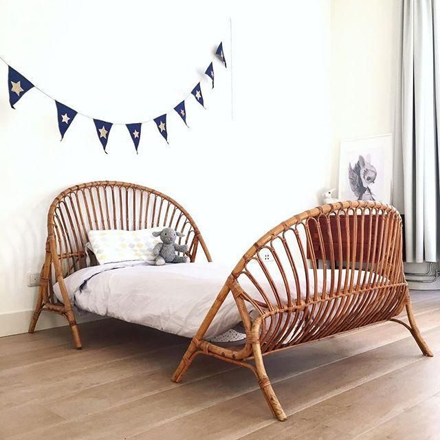 Best Rattan Bed Fleet Stunning Kids Single Bed Daybeds 400 x 300