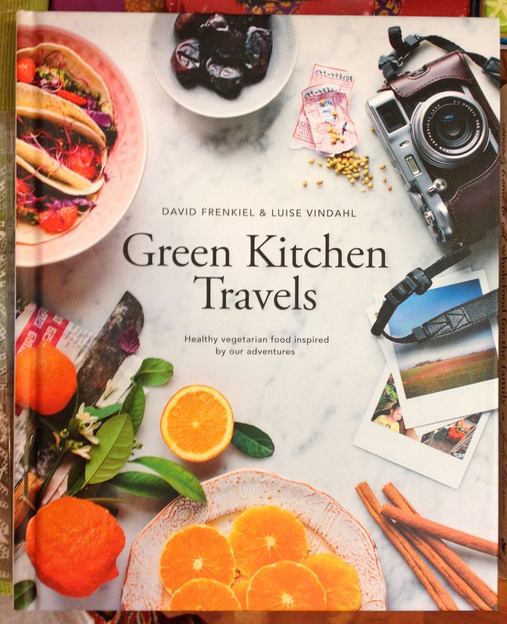 Recipe book - Green Kitchen Travels.  A beautifully presented book.