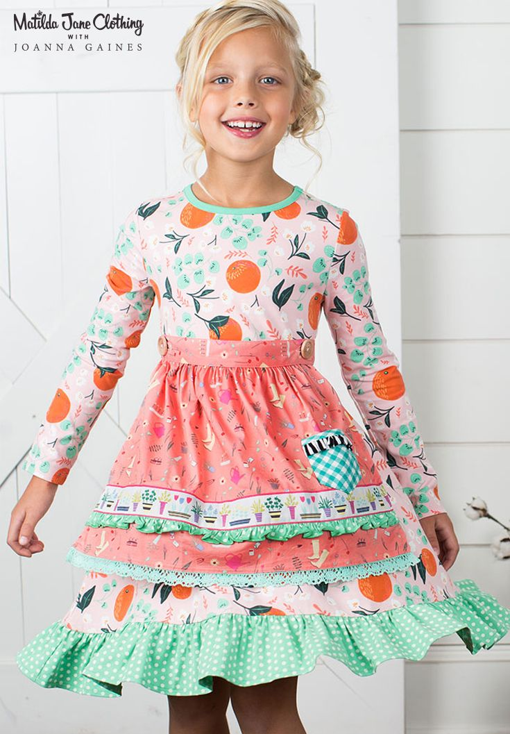 Matilda Jane with Joanna Gaines: Sweet Clementine Dress