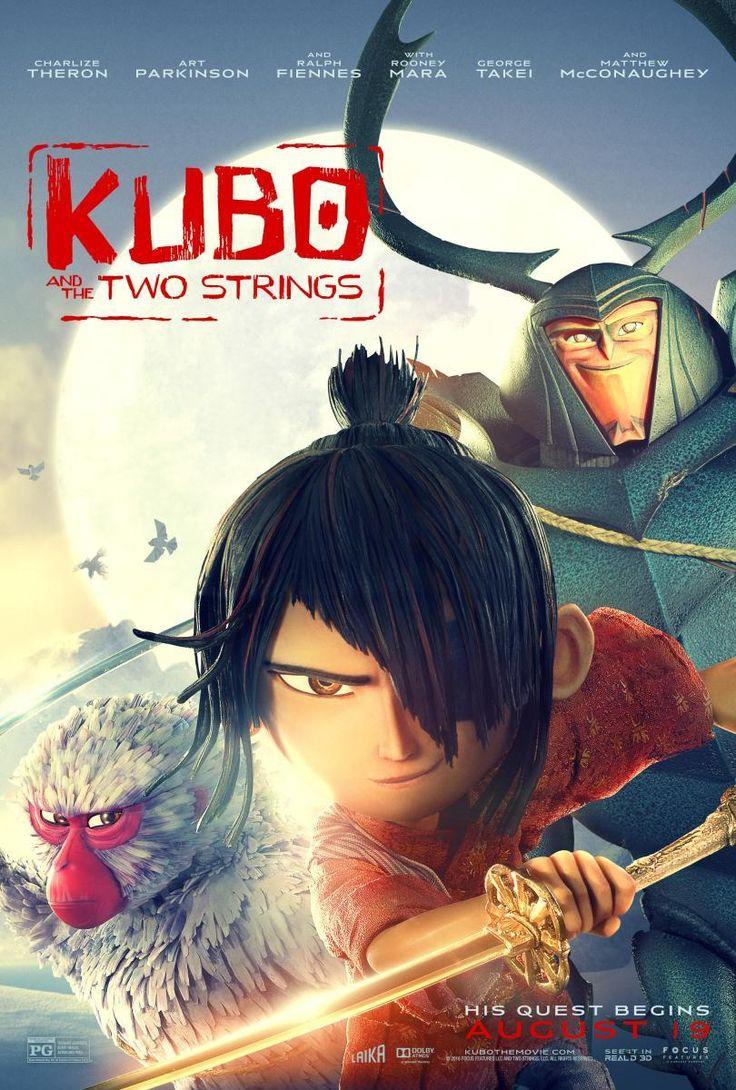 """DVD. Infantil. """"Kubo y las dos cuerdas mágicas"""". Disponible en Biblioteca de La Estación."""