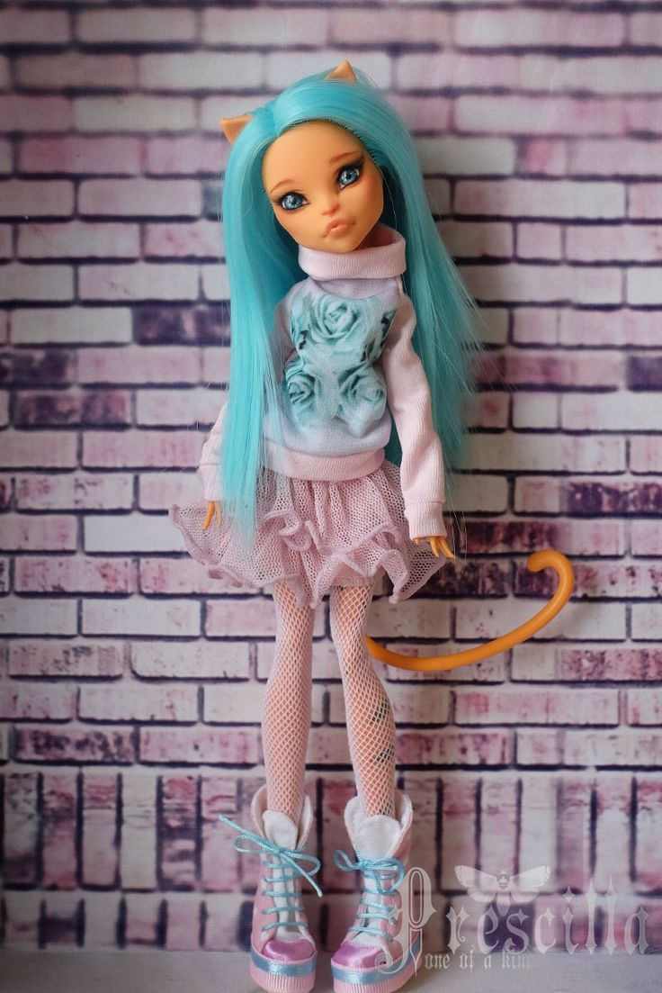 ♥♥♥ Prescilla   OOAK   ООАК Monster High ♥♥♥
