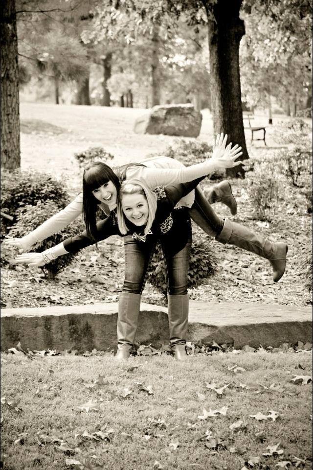 Crazy Best Friend Pose!!! :D