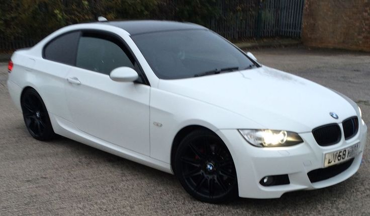 BMW 3 SERIES M-SPORT COUPE WHITE FSH MOT 08/2016 ALL EXTRAS SAT ...
