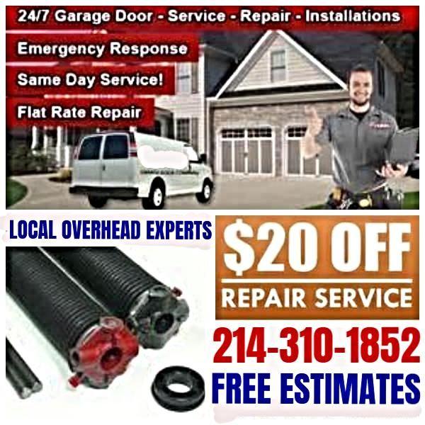 GARAGE DOOR REPAIR INSTALLATION IN DALLAS TEXAS 100 Highland Park Village Dallas TX 75205 214 310 1852 Garage Home Replacement