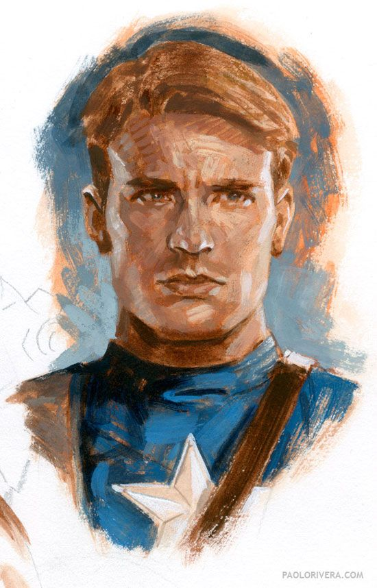 Steve Rogers by Paolo Rivera