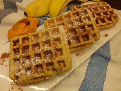 A cozinha do Titó: Wafers de Banana e Laranja
