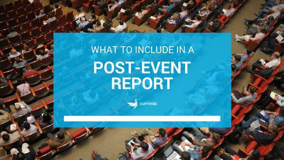 17+ Event Report Templates