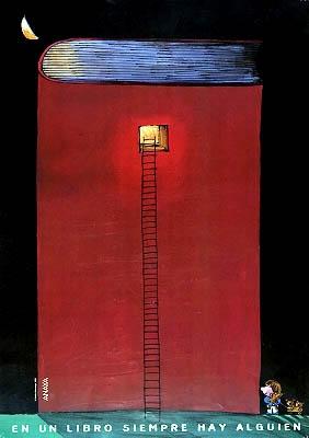 En un libro siempre hay alguien / Emilio Urberuaga (2000)