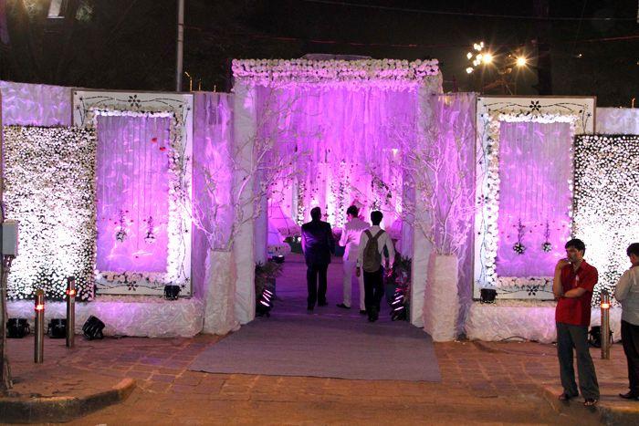 30 Lovely Reception Entrance Decor You Ll Love It Gate Decoration Wedding Venue Decorations Wedding Entrance
