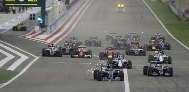 Formula 1, Rosberg vince in Bahrain. Kimi secondo, Vettel out - QuotidianoNet