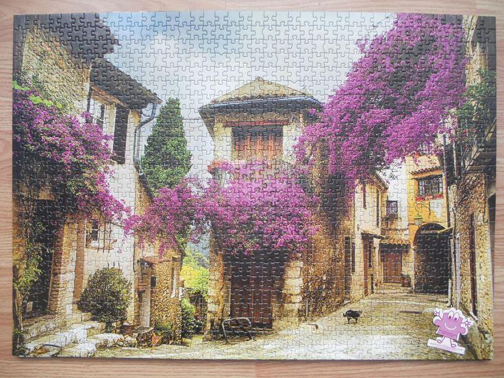 """""""KS Games Beautiful old town of Provence 1000 parça"""" Hazır yapılmış ve yapıştırılmış çerçeveye hazır puzzle Aynı gün kargo!  Satın almak ve fiyat bilgisi için ürün görseli üzerine tıklayın lütfen..!!"""