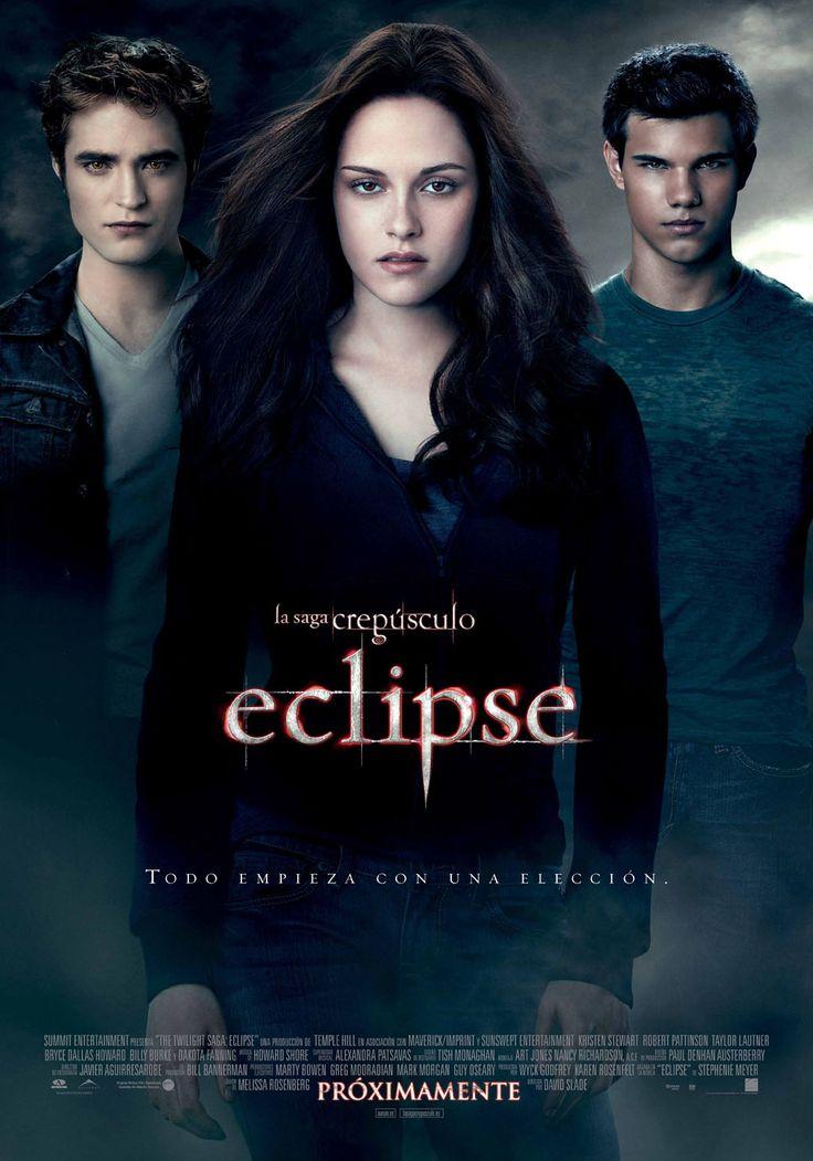 La saga crepúsculo: eclipse el póster oficial de la película :)
