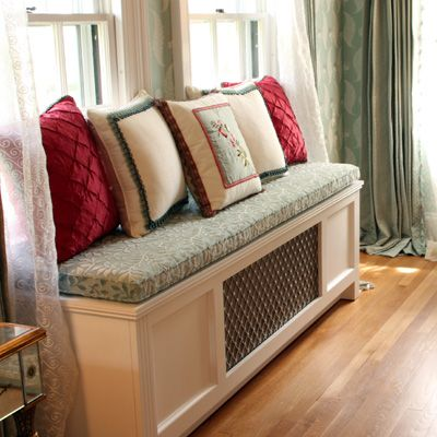 Another radiator bench.