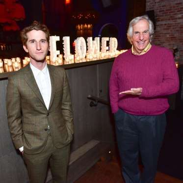 """© Sean Zanni/Patrick McMullan via Getty Images    HENRY WINKLER  The """"Happy Days"""" star is the father of the """"Flower"""" (2017) director and screenwriter, Max (L).  Other children: Zoe Emily and Jed Weitzman"""