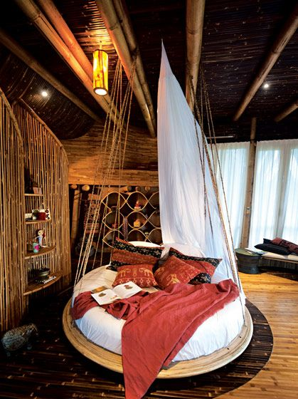 The treehouse in Bali. This is one of the rooms of the monstrosity that is this tree house [I say that in the nicest possible way as all tree houses rock]