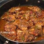 Jamaican Brown Stew Chicken Recipe (video)