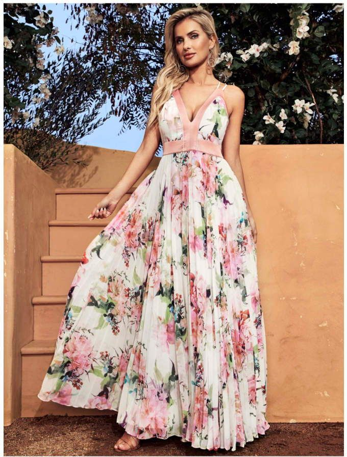 112afccafcde GUESS #Guess Petal Perfection #Maxi #Dress Get #romantic in this floor-