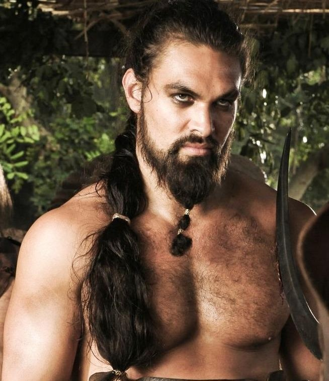Image result for khal drogo beard