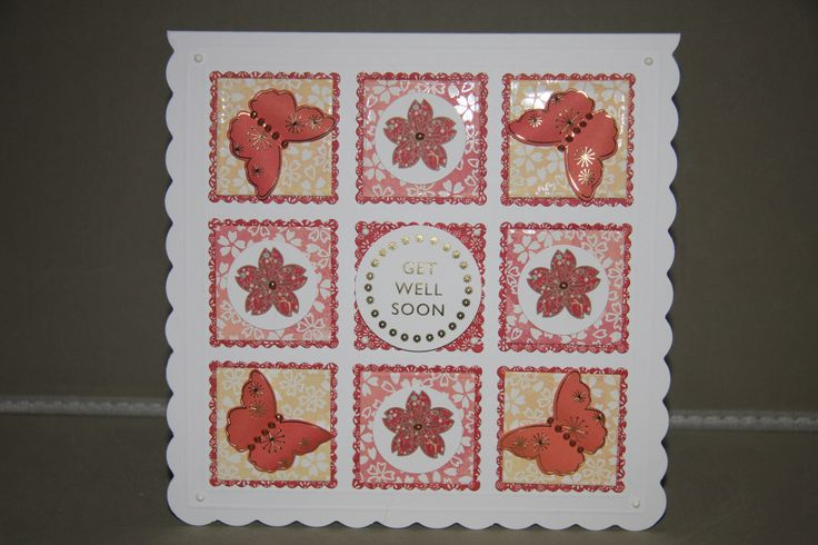 Card created by Debbie using Kimono Collection and Reveal It's by Craftwork Cards