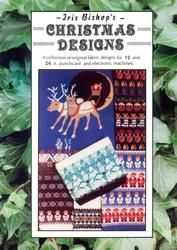 Iris Bishop Christmas Designs for Machine Knitters - Lots of traditional motifs for 12 and 24 stitch machines.