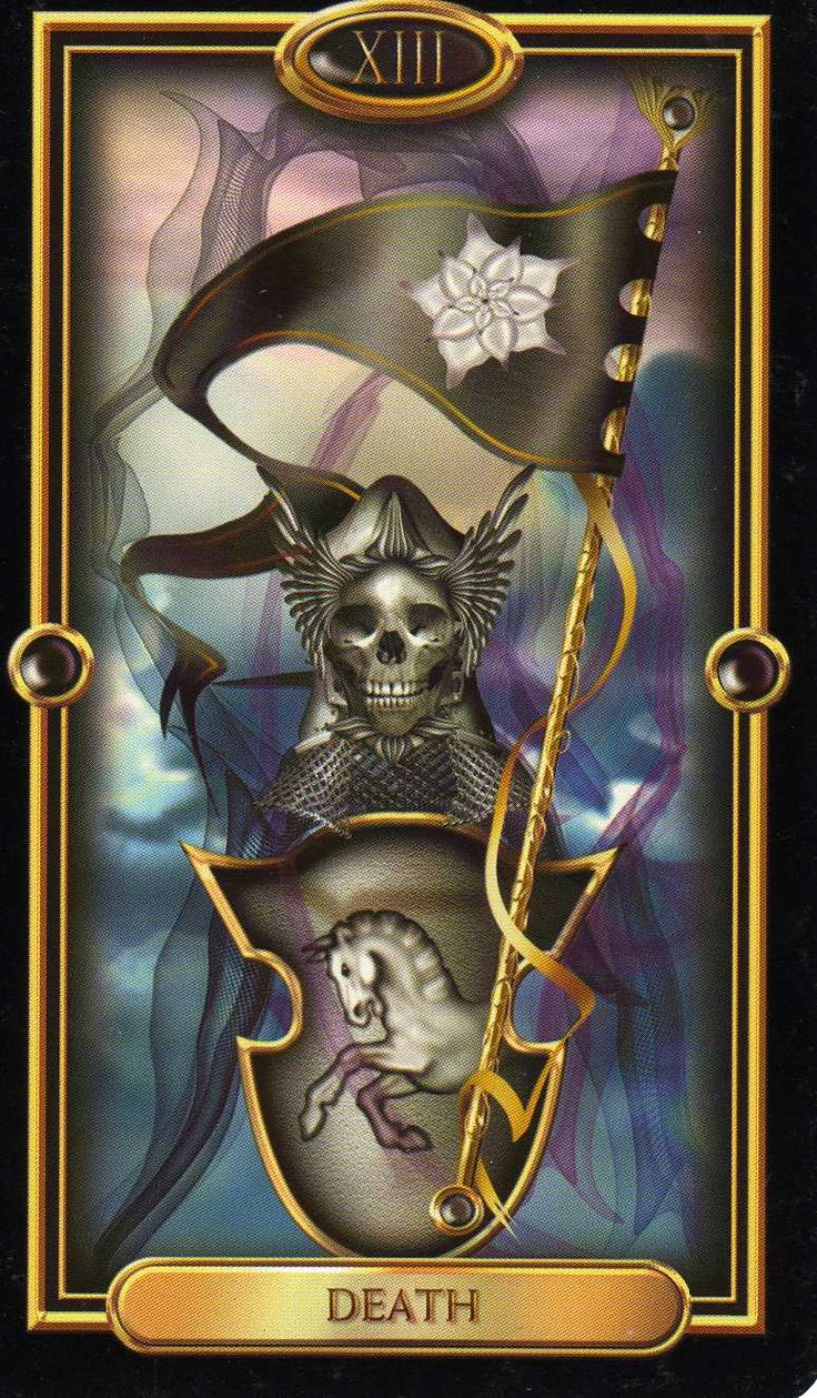 Tarot, Death And The End On Pinterest