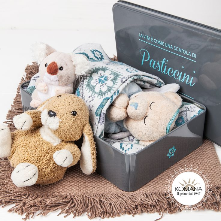 Contiamo le stelle insieme per addormentarci in dolcezza.  La scatola dei nostri pasticcini artigianali si trasforma in un gioco per tutti i bambini!