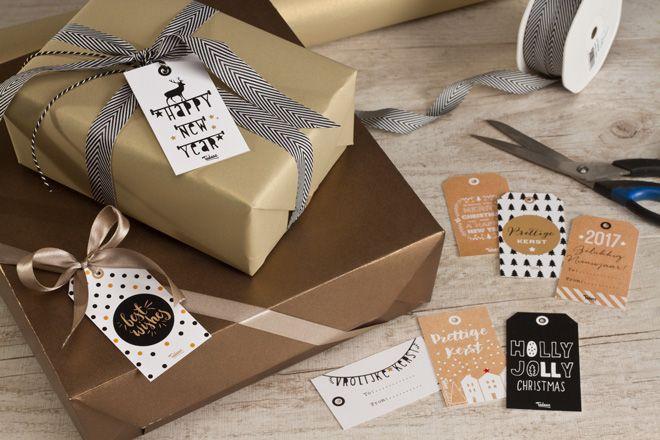 Werk je geschenkjes perfect af met trendy gift tags! Vraag de GRATIS Tadaaz gift tags en maak je de meest originele, trendy pakjes voor onder de kerstboom!