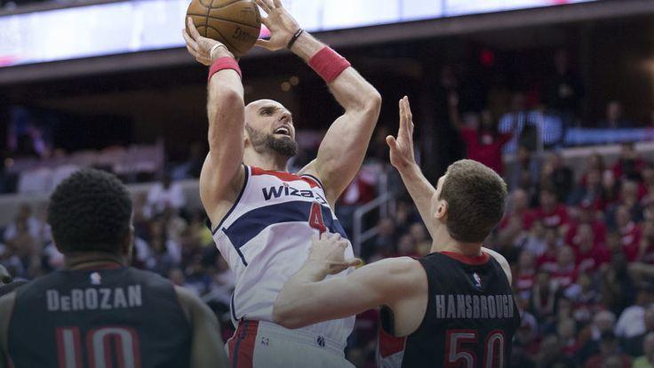 NBA: popisowy mecz Gortata, Wizards o krok od awansu