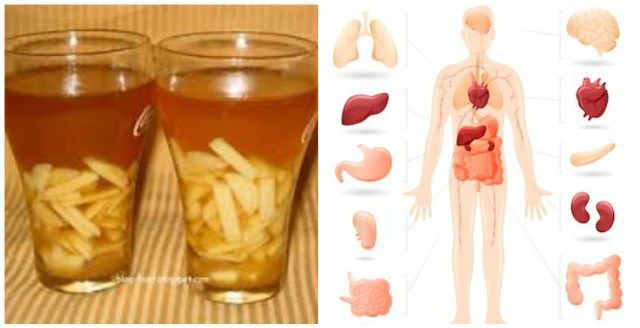 Share this post If you drink this tea you will cleanse your body of toxins that builds up in your body. Components 4 cups of water 2 pieces of fresh ginger root Preparation Peel...