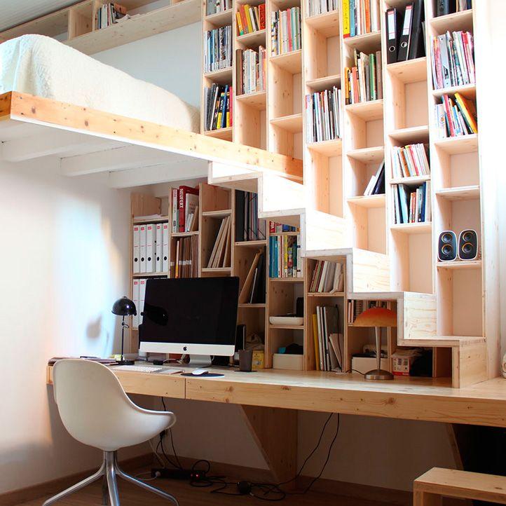 les 25 meilleures id es de la cat gorie petit escalier sur pinterest escalier troit escalier. Black Bedroom Furniture Sets. Home Design Ideas